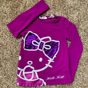 H&M Hello Kitty long sleeve shirt